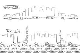 東京の人口密度